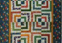 half log cabin quilt pattern cut loose press Interesting Log Cabin Quilts Patterns Inspirations