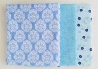 half yard quilting fabric set of three blue fabrics one half yard each 100 cotton high quality fabric blender fabric Interesting Quilting Fabric By The Yard Gallery