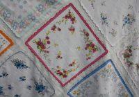 handkerchiefs vintage and new jane haworth Unique Vintage Hankie Quilt