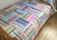 handmade patchwork quilt gorgeous oversized single throw Interesting Single Bed Patchwork Quilt Patterns Gallery