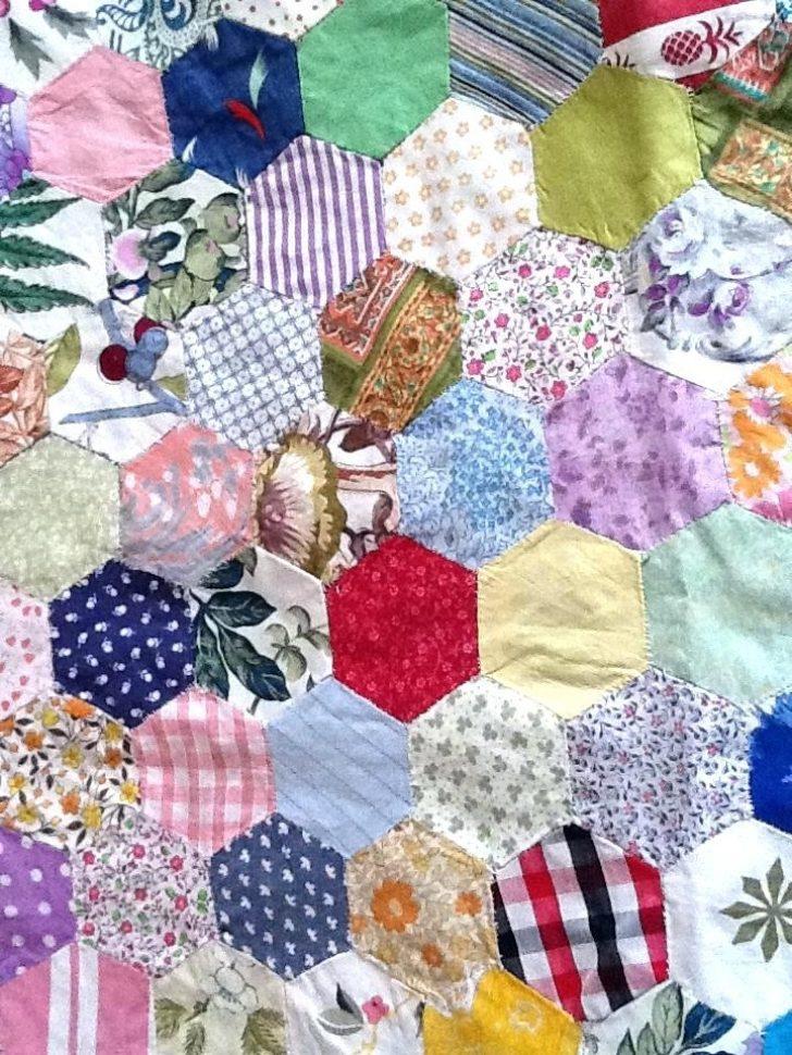 Permalink to Interesting Handmade Patchwork Quilt Vintage Gallery