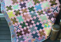 handmade quilt vintage patchwork hand quilted throw blanket cotton 72 x 82 Interesting Handmade Patchwork Quilt Vintage Gallery
