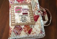 handmade rag quilted bible cover beige patchwork Interesting Quilted Bible Cover Patterns Gallery
