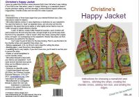 happy jacket pattern basic instructions sewing jacket Stylish Quilted Sweatshirt Pattern Inspirations