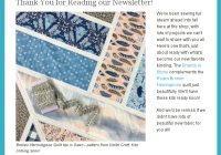 hawthorne threads newsletter a quilt design board Elegant Mad B'S Quilt And Sew