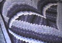 heart bargello quilt Elegant Bargello Heart Quilt Pattern
