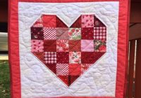 heart hand quilted patchwork wall hangingmini quilt quilted wall art 9 Elegant Heart To Hand Quilt Patterns Gallery