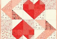 hearts intertwined heart quilt pattern quilt blocks Elegant Intertwined Quilt Pattern Gallery