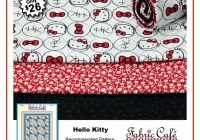 hello kitty 3 yard quilt kit Unique Hello Kitty Quilt Pattern