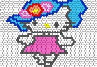hello kitty design hexagon quilt and patchwork hexagon Modern Hello Kitty Quilt Block Pattern Gallery