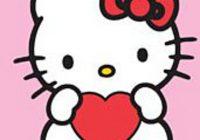 hello kitty heart chart pattern lea barrick Hello Kitty Quilt Block Patterns Gallery