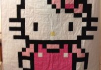 hello kitty quilt pattern 1000 images about hello kitty on Unique Hello Kitty Quilt Pattern