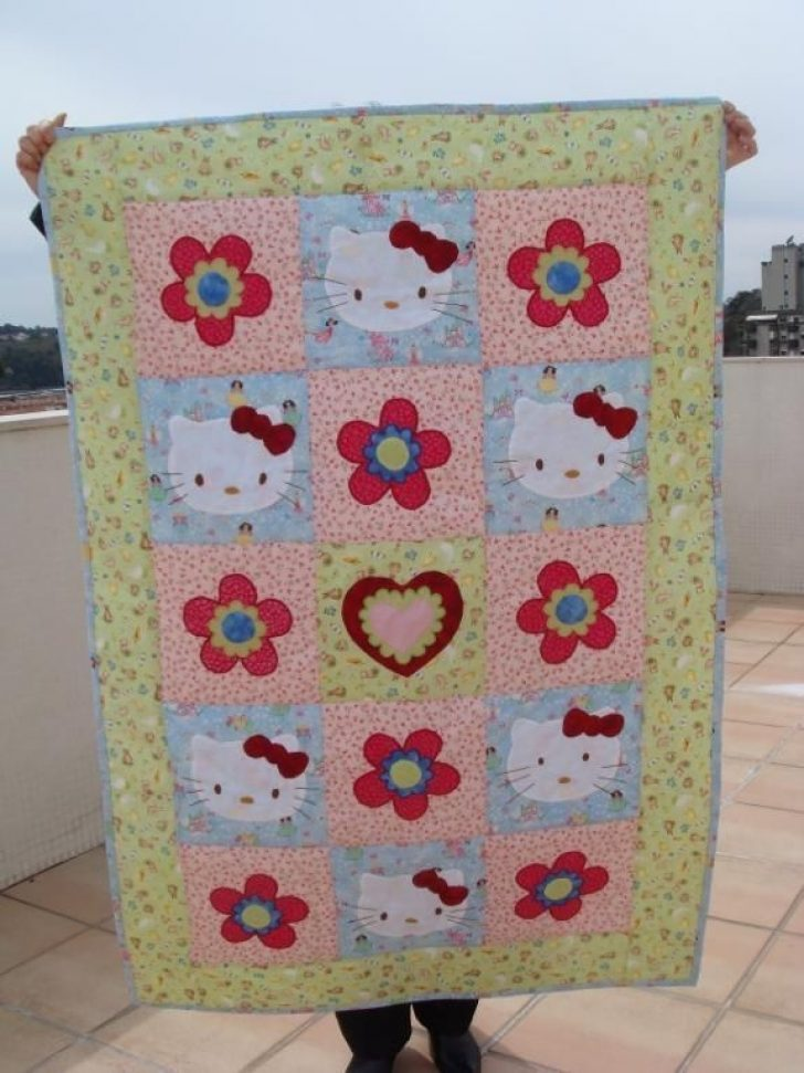 Permalink to Unique Hello Kitty Quilt Pattern
