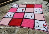 hello kitty2 blanket pattern pdf download crochet Modern Hello Kitty Quilt Block Pattern Gallery