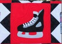 hockey quilt patterns tamarack shack hockey skate quilt Hockey Quilt Pattern