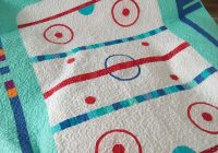 hockey rink quilt ba gifts twin quilt size crochet Modern Good Old Hockey Game Quilt Pattern Inspirations