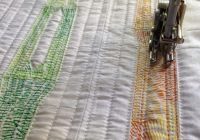 how to do straight line quilting for beginners Straight Line Quilting Patterns Inspirations