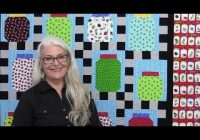 how to make a bug jar quilt with lots of tips New Bugs In A Jar Quilt Pattern