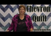 how to make a chevron quilt using 10 fabric squares Cozy Easy Chevron Quilt Pattern Inspirations