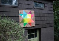how to make a modern barn quilt how tos diy Unique Painted Quilts On Amish Barns Gallery