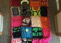 how to make a no sew t shirt blanket diy shirt quilt Cozy No Sew Tshirt Quilt Gallery