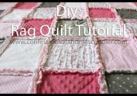 how to make a rag quilt tutorial Quilt Patterns Pictures Of Rag Quilts Inspirations