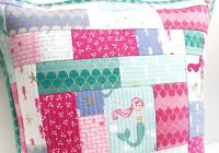 how to make a simple patchwork pillow using the quilt as you Elegant Quilt Patterns For Pillows Gallery