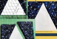 how to make a triangle in a square block triangle quilt Elegant Triangle In A Square Quilt Block