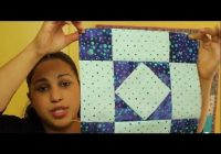 how to make an amish diamond quilt block block 2 of 12 video quilt along Modern Amish Quilt Block Patterns