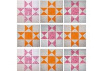 how to make easy quarter square triangle units Quarter Square Triangle Quilt Pattern