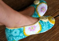 how to make fabric slippers with free pattern pretty prudent Cool Quilted Slippers Pattern Inspirations