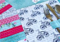 how to make quilted placemats pattern and tutorial 10 Modern Quilted Placemats Pattern