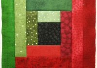 how to make the basic log cabin quilt block quilts jen Unique Log Cabin Square Quilt Inspirations