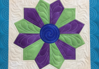 how to piece a diamond dresden plate quilt block free Cozy Dresden Plate Quilt Block Pattern
