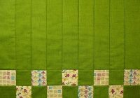 how to quilt placemats with the stitch flip method Cozy Flip And Sew Quilting Method Inspirations