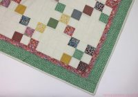 how to sew 9 patch quilt blocks 9 patch quilt variations Interesting Nine Patch Quilt Patterns Easy