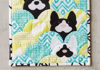 how to sew a mini scalloped animals quilt love patchwork Modern Animal Patchwork Quilt Patterns Gallery