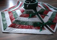 how to sew a quilted christmas tree skirt holidappy Elegant Quilted Tree Skirt Patterns Inspirations