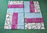 how to sew a traditional rail fence quilt block Cool Rail Fence Quilt Pattern Instructions Gallery