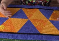 how to sew triangles together for quilting part 2 alanda Sewing Triangles For Quilts Inspirations