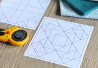 how to turn a quilt block pattern into a foundation paper Cozy Foundation Quilt Patterns Inspirations