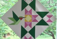 hummingbird barn quilt designs painted barn quilts barn 10   Quilt Patterns For Barns Gallery