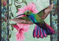 hummingbird quilt pattern templates and applique Stylish Hummingbird Quilt Pattern Inspirations
