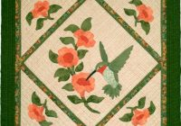 hummingbird Stylish Hummingbird Quilt Pattern Inspirations