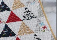 i sometimes forget how a simple triangle quilt can be Cool Simple Triangle Quilt Pattern Inspirations