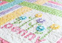 image result for ba applique quilt patterns girl quilts Elegant Applique Quilt Patterns For Babies