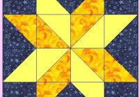 image result for easy 2 or 3 color quilt blocks star quilt Cozy Easy 3 Color Quilts Inspirations