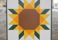 image result for sunflower barn quilt pattern barn quilts Unique Patterns For Barn Quilts Inspirations