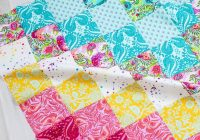 Interesting 10 free fat quarter friendly quilt patterns sewcanshe New Fat Quarter Quilt Patterns