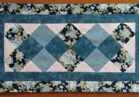 Interesting 31 beautiful quilted table runners pattern the funky stitch Cool Simple Quilted Table Runner Patterns